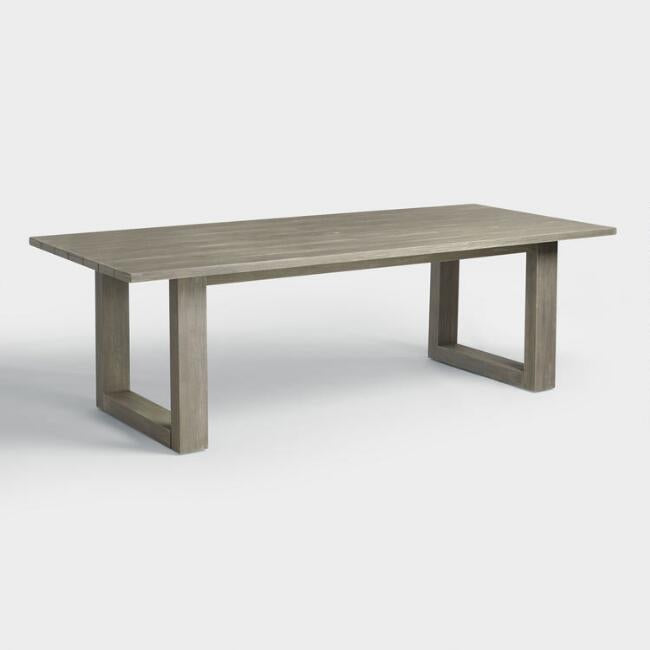 Gray San Sebastian Outdoor Dining Table #4262