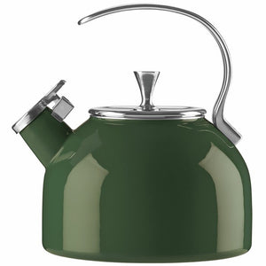 Kate Spade Nolita Stainless Steel Stovetop Kettle- Clover #9925ha