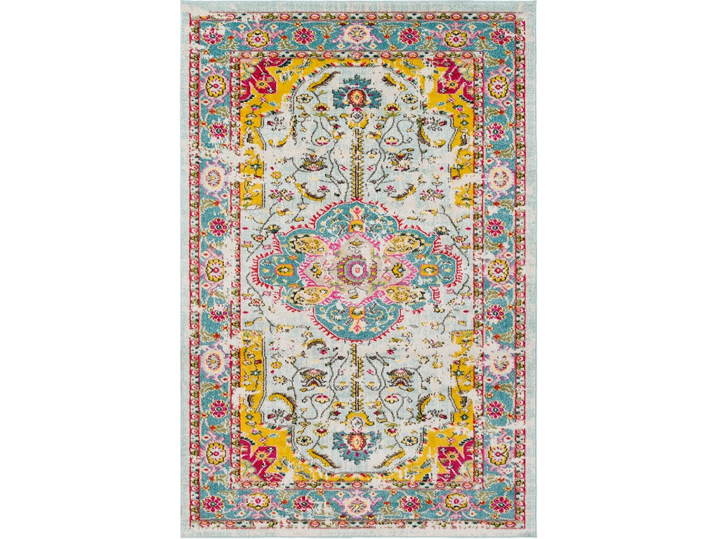 Surya Anika Area Rug- 2' x 3' Multi-color #9927ha