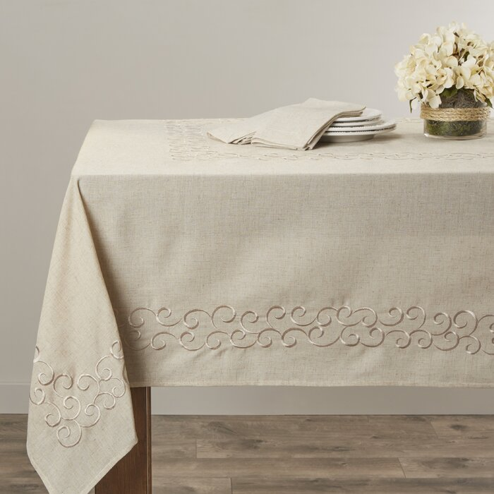 Armstrong Scroll Design Tablecloth- 104