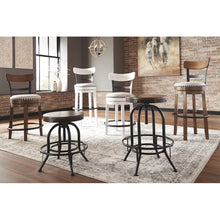 Load image into Gallery viewer, Amador Upholstered Swivel Bar Stool (Set of 2) - 7070 *2 seperate boxes*