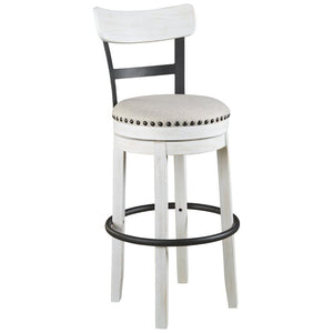 Amador Upholstered Swivel Bar Stool (Set of 2) - 7070 *2 seperate boxes*
