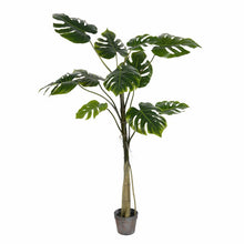 Load image into Gallery viewer, Artificial Potted Grand Floor Foliage Tree in Pot 7058