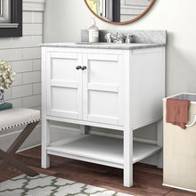 "Load image into Gallery viewer, Aula 30"" Single Bathroom Vanity"