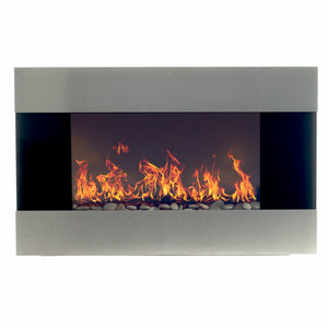 Clairevale Wall Mounted Electric Fireplace 7044