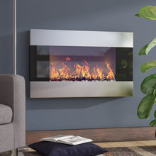 Load image into Gallery viewer, Clairevale Wall Mounted Electric Fireplace 7044