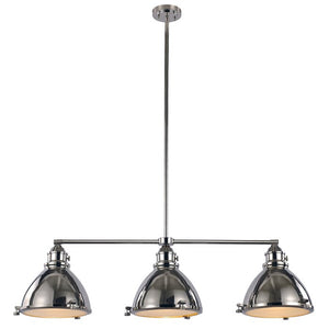 Dewey 3 - Light Kitchen Island Linear Pendant 8032
