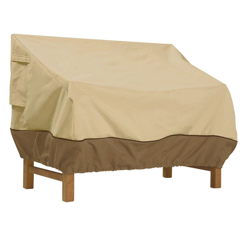 Donahue Water Resistant Patio Bench Cover 7593