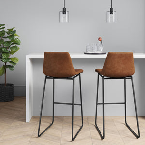 SET OF 2 Bowden bar stools #9214 (2 boxes)