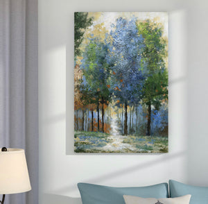 """Afternoon Light"" Wrapped Canvas Print"