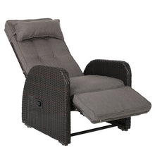 Load image into Gallery viewer, Keenes Recliner Patio Chair with Cushion 7632