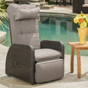 Keenes Recliner Patio Chair with Cushion 7632