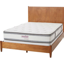 "Load image into Gallery viewer, Wayfair Sleep 10.5"" Firm Hybrid Mattress Twin *AS IS*, #6823"