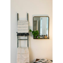 Load image into Gallery viewer, Peetz Accent Mirror with Shelves 7737