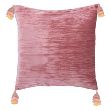 "Load image into Gallery viewer, 16"" Gwena Pillow - Pink #CR1073"