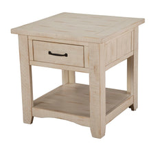 Load image into Gallery viewer, Soham Solid Wood End Table with Storage 7509