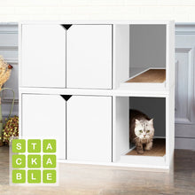 Load image into Gallery viewer, Grinnell Eco Litter Box Enclosure White #217HW
