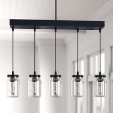 Load image into Gallery viewer, Wednesbury 5-Light Kitchen Island Jar Pendant #164HW