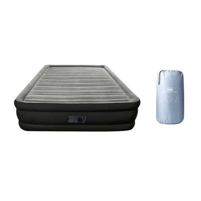 Embark Double High Air Mattress with Built In Pump Queen(1888RR)