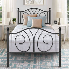 Load image into Gallery viewer, Guerra Bed Frame Twin Black(1746RR)