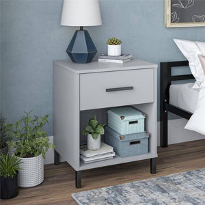 Room and Joy Grayhill Nightstand Gray(1851RR)