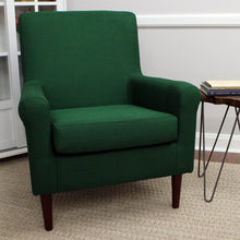 Load image into Gallery viewer, Ronald Armchair Upholstery Color Emerald Green #82HW