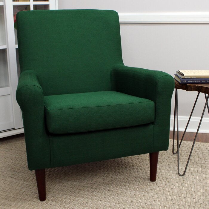 Ronald Armchair Upholstery Color Emerald Green #82HW