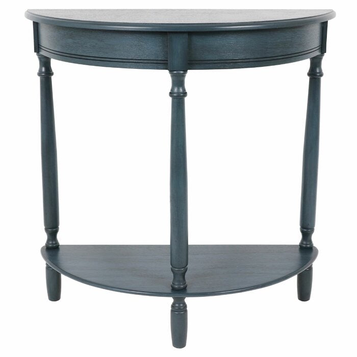 "Hadenson 28"" Solid Wood Console Table-Antique Navy(249)"