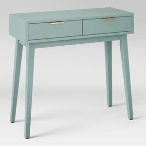 Hafley Two Drawer Console Table Smoke Green(561)