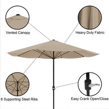 Load image into Gallery viewer, Kelton 9' Market Umbrella - Sand - #61CE