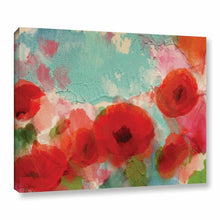Load image into Gallery viewer, Fresh Air Poppies Painting Print on Wrapped Canvas(1569)