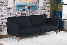 Load image into Gallery viewer, Novogratz Regal Sleeper Sofa in Blue(1637RR)