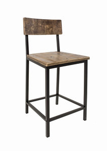 "Burton Solid Wood 24.25"" Counter Stool #4484"