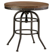Load image into Gallery viewer, Vennilux Round End Table Grayish Brown(276)