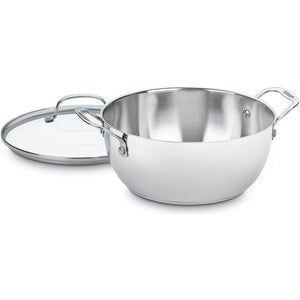 Cuisinart 5.5 qt. Stainless Steel Soup Pot with Lid #101HW