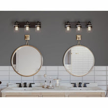 Load image into Gallery viewer, Vasilia 3-Light Dimmable Vanity Light #338HW