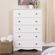 Load image into Gallery viewer, Hayman 5 Drawer Chest White(1776RR)