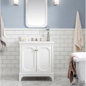 "Kylan 30"" Single Bathroom Vanity Set White"