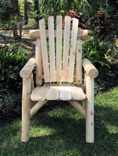 Load image into Gallery viewer, Lakeland Mills Cedar Wood Outdoor Chair Natural(550)