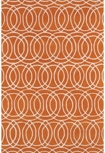 "Load image into Gallery viewer, Revolution Orange 9'6"" x 13' Area Rug (1760)"