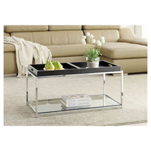Load image into Gallery viewer, Johar Coffee Table Black(568)