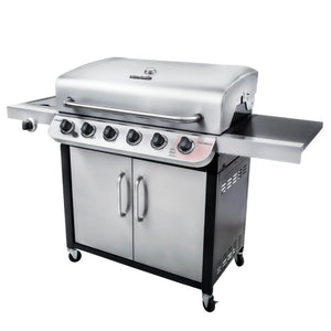 Charbroil Performance Series 6 Burner Propane Gas Grill Silver(330)