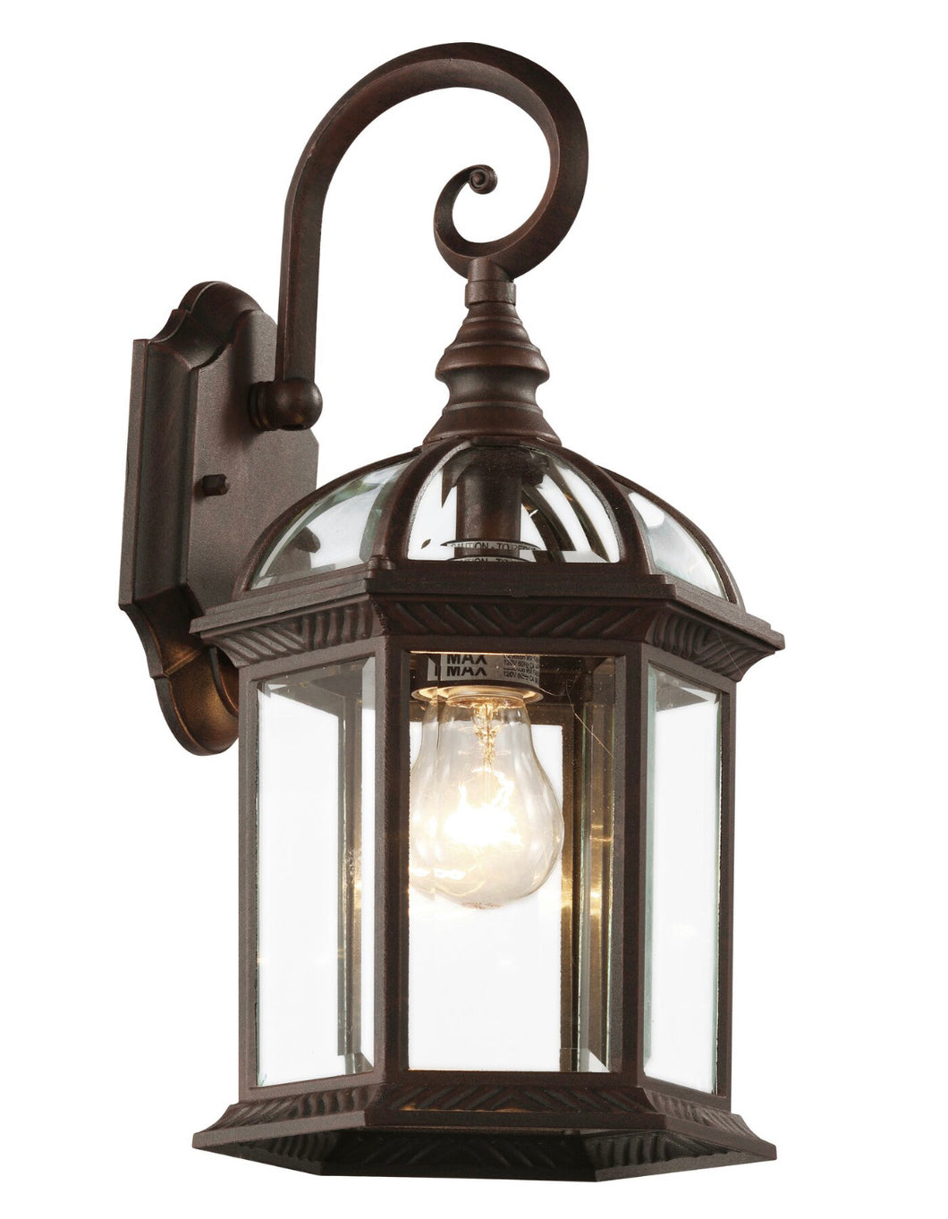 Powell Outdoor Wall Lantern Fixture Set of 2 #313-NT (2 boxes)