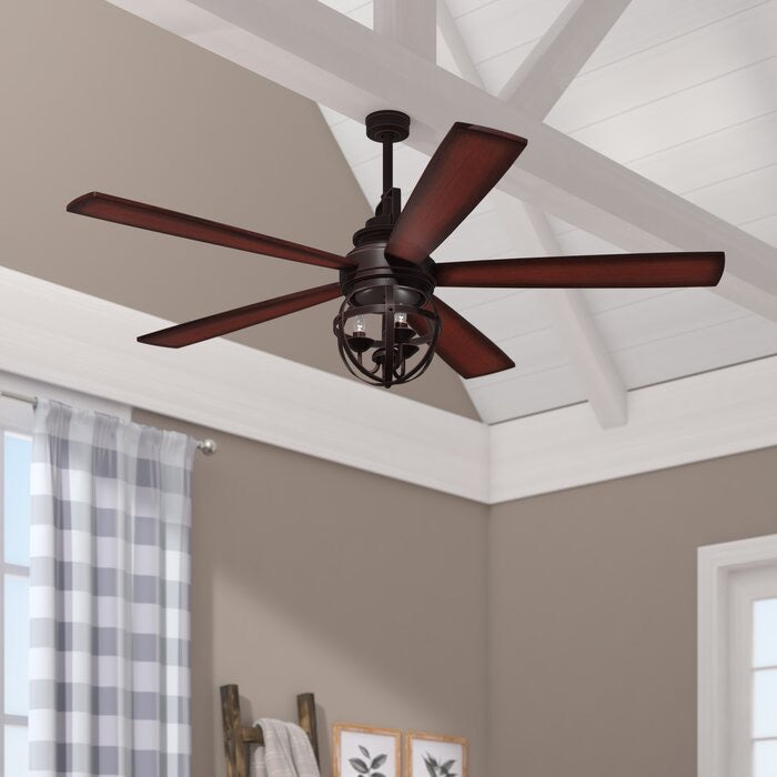 "Genna 52"" 5 Blade Ceiling Fan with Remote(473)"