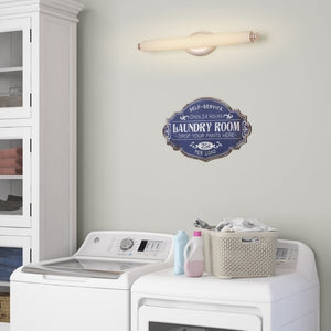 Metal Laundry Room Wall Décor #125HW