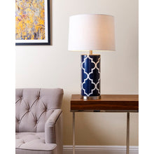 "Load image into Gallery viewer, Dearborn 27"" Table Lamp Dark Navy(2030RR)"