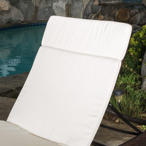 Tallulah Down Indoor/Outdoor Chaise Lounge Cushion #293