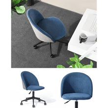 Kase Task Chair Blue 103hw Salvage Co Fishers