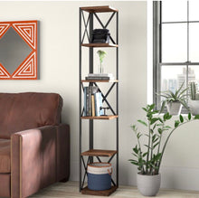 Load image into Gallery viewer, Gurley Corner Unit Bookcase #5503