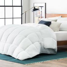 Load image into Gallery viewer, Oversized King White All Season Single Down Alternative Comforter #260HW